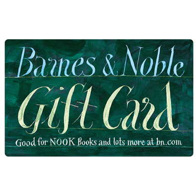 BARNES & NOBLE<sup>®</sup> $25 Gift Card - Perfect for book lovers or anyone who likes games, music, stationery, and more!