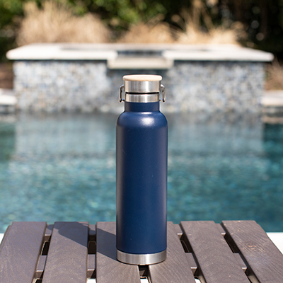 ALLCASION<sup>&reg;</sup> Performance Bottle - Take your favorite beverage, hot or cold, wherever you go in this 22 oz. lightweight bottle.  Made of stainless steel with copper liner, eco-friendly, reusable and recyclable.  Keeps hot for 12 hours and cold for 24 hours.