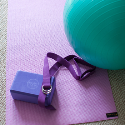WAI LANA™ Total Yoga Kit - Enjoy the yoga experience at home with this kit.  Includes workout DVD, Yogi Mat™, yoga block, yoga strap, Eco Ball with foot pump for ball inflation and instructional posters.